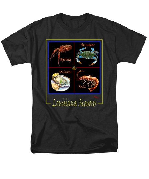 Louisiana Seasons Men's T-Shirt  (Regular Fit)