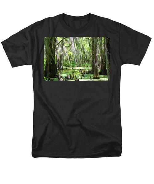 Louisiana Swamp Men's T-Shirt  (Regular Fit) by Inspirational Photo Creations Audrey Woods
