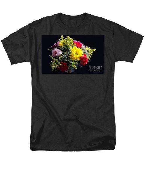 Love Bouquet Men's T-Shirt  (Regular Fit) by Becky Lupe