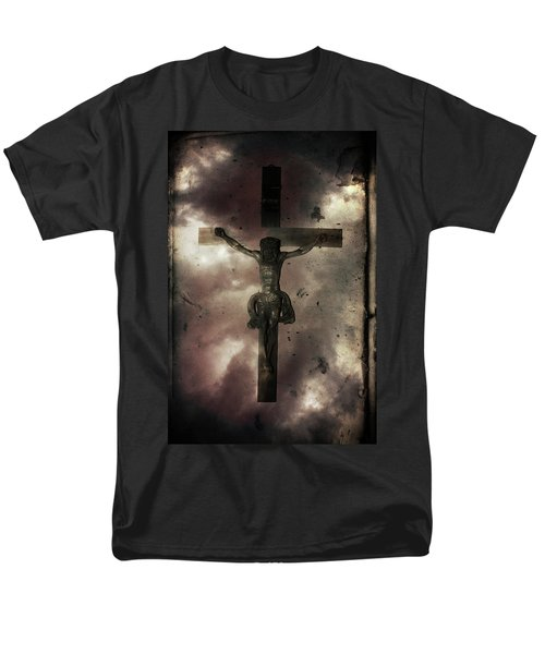 Men's T-Shirt  (Regular Fit) featuring the painting Love by Gray  Artus