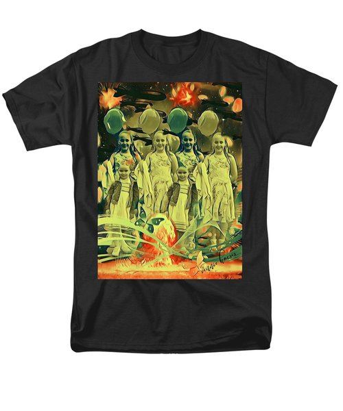Love In The Age Of War Men's T-Shirt  (Regular Fit) by Vennie Kocsis