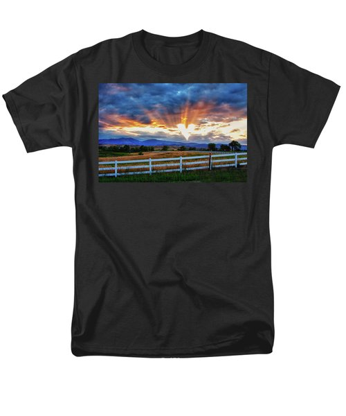 Men's T-Shirt  (Regular Fit) featuring the photograph Love Is In The Air by James BO Insogna
