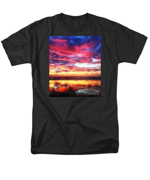 Love Is Real Men's T-Shirt  (Regular Fit) by LeeAnn Kendall
