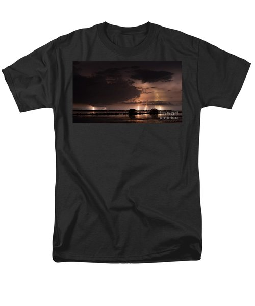 Low Tide With High Energy Men's T-Shirt  (Regular Fit)