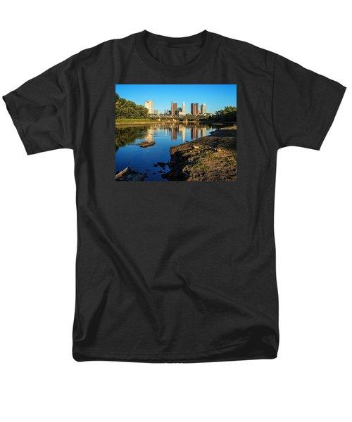 Men's T-Shirt  (Regular Fit) featuring the photograph Low Water  by Alan Raasch