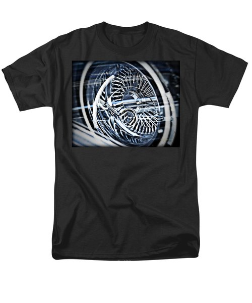 Lowrider Wheel Illusions 1 Men's T-Shirt  (Regular Fit) by Walter Herrit
