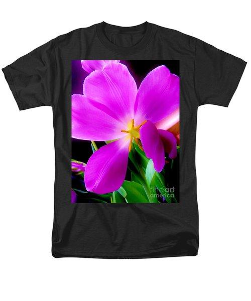 Luminous Tulips Men's T-Shirt  (Regular Fit) by Tim Townsend