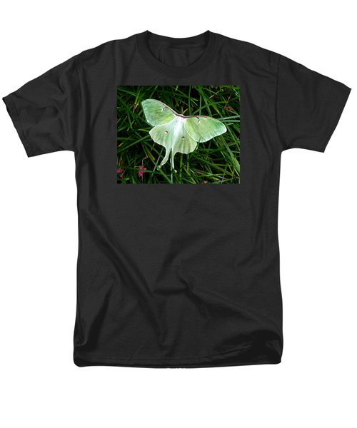 Luna Mission Accomplished Men's T-Shirt  (Regular Fit) by Carla Parris