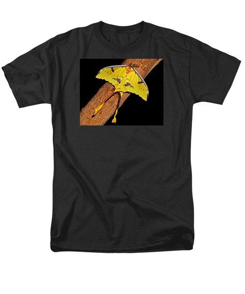 Men's T-Shirt  (Regular Fit) featuring the photograph Luna Moth by Judy Vincent