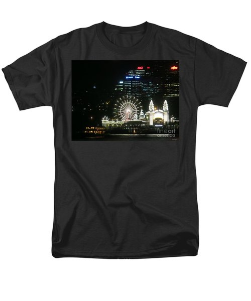Men's T-Shirt  (Regular Fit) featuring the photograph Luna Park by Leanne Seymour
