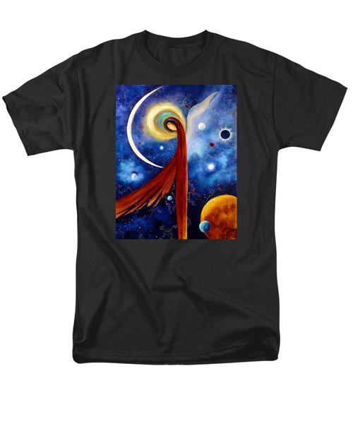 Lunar Angel Men's T-Shirt  (Regular Fit) by Marina Petro