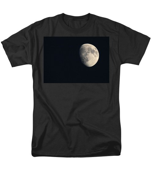 Men's T-Shirt  (Regular Fit) featuring the photograph Lunar Surface by Angela Rath