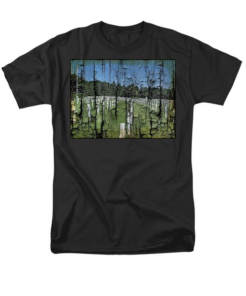 Luxembourg Wwii Memorial Cemetery Men's T-Shirt  (Regular Fit) by Joseph Hendrix