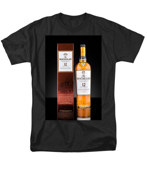 Macallan Single Malt Whisky Men's T-Shirt  (Regular Fit) by Mihai Andritoiu
