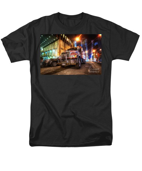 Mack Truck Nyc Men's T-Shirt  (Regular Fit) by Yhun Suarez