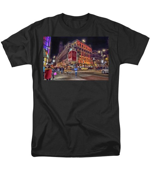 Macy's Of New York Men's T-Shirt  (Regular Fit) by Dyle Warren