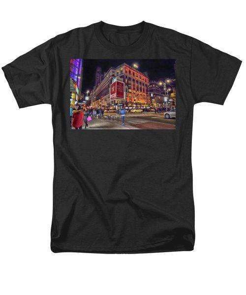 Macy's Of New York Men's T-Shirt  (Regular Fit)
