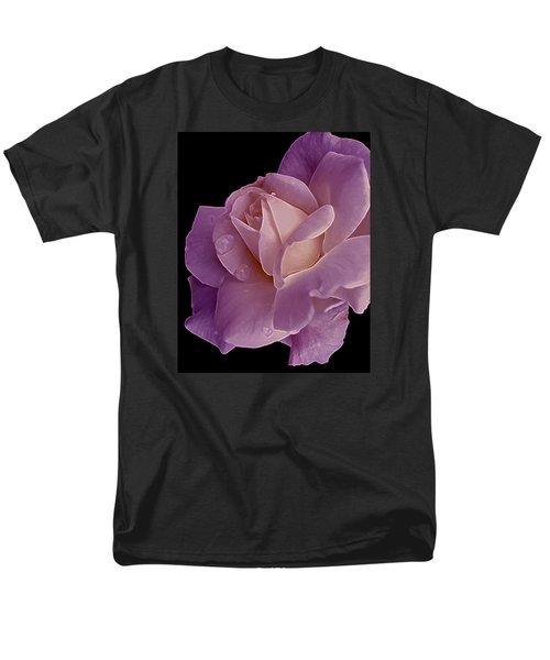 Magenta Queen 8  Men's T-Shirt  (Regular Fit) by Lynda Lehmann