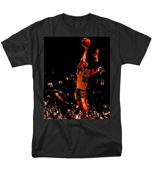 Magic Johnson Lean Back II Men's T-Shirt  (Regular Fit) by Brian Reaves