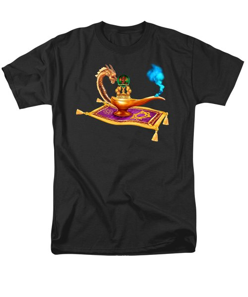 Magical Dragon Lamp Men's T-Shirt  (Regular Fit) by Glenn Holbrook