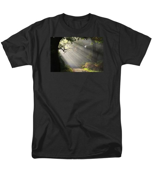 Magical Moment In The Park Men's T-Shirt  (Regular Fit) by Barbara Walsh