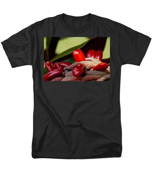 Magnolia Seeds Men's T-Shirt  (Regular Fit) by Christopher Holmes
