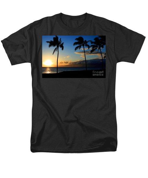 Mai Ka Aina Mai Ke Kai Kaanapali Maui Hawaii Men's T-Shirt  (Regular Fit) by Sharon Mau