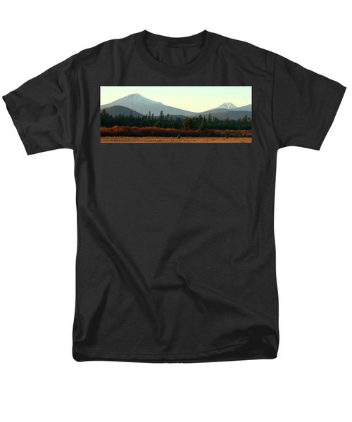 Majestic Mountains Men's T-Shirt  (Regular Fit) by Terry Holliday Giltner