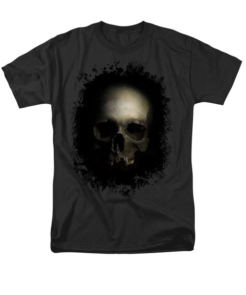 Men's T-Shirt  (Regular Fit) featuring the photograph Male Skull by Jaroslaw Blaminsky