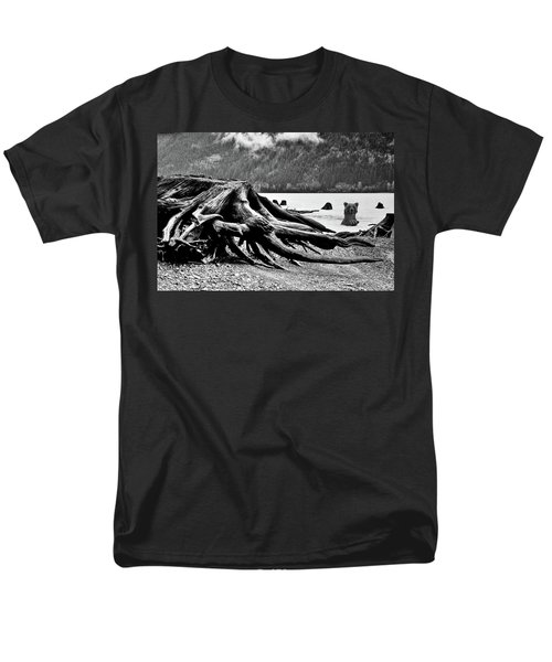 Mama Bear And Her Cub Men's T-Shirt  (Regular Fit) by Marius Sipa