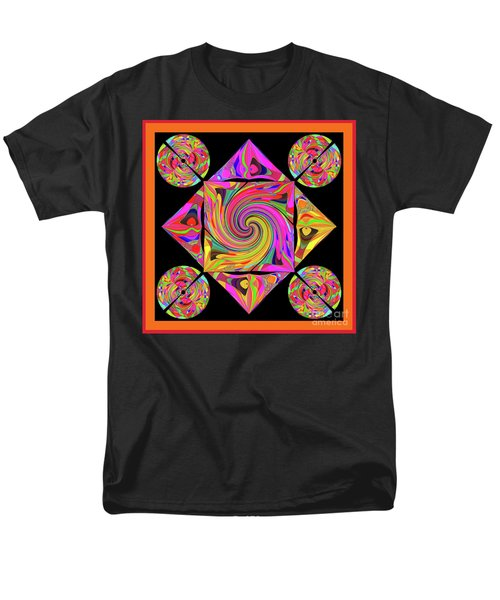 Men's T-Shirt  (Regular Fit) featuring the digital art Mandala #50 by Loko Suederdiek
