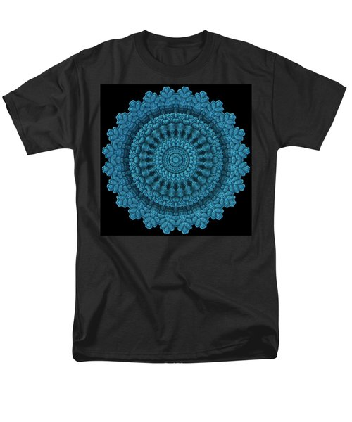 Men's T-Shirt  (Regular Fit) featuring the digital art Mandala For The Masses by Lyle Hatch