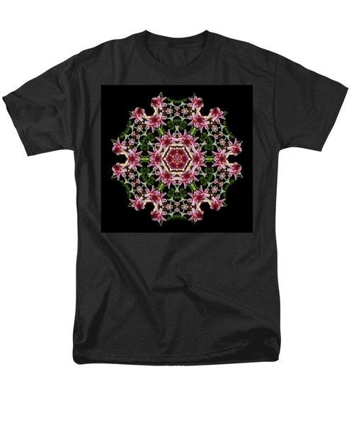 Men's T-Shirt  (Regular Fit) featuring the photograph Mandala Monadala  Lisa by Nancy Griswold