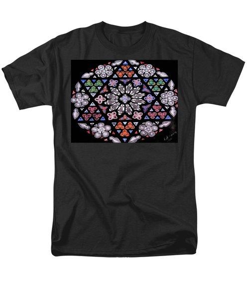 Mandala Of Hope Phase 2 Men's T-Shirt  (Regular Fit) by Lisa Brandel