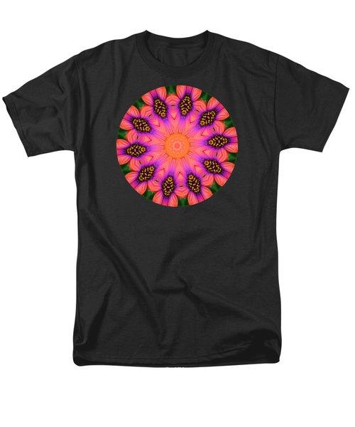 Mandala Salmon Burst Men's T-Shirt  (Regular Fit) by Hao Aiken