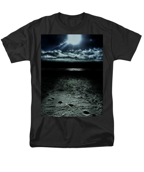 Manhattan Beach Dark Men's T-Shirt  (Regular Fit) by Steve Burch