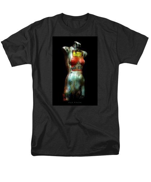 Men's T-Shirt  (Regular Fit) featuring the painting Mannequin Graffiti by Kim Gauge