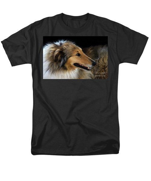Man's Best Friend Men's T-Shirt  (Regular Fit) by Bob Christopher