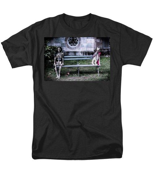Men's T-Shirt  (Regular Fit) featuring the photograph Man's Best Friend Till The End by Colleen Kammerer