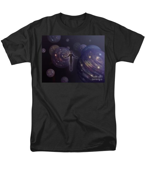 Many Worlds Men's T-Shirt  (Regular Fit) by Amyla Silverflame