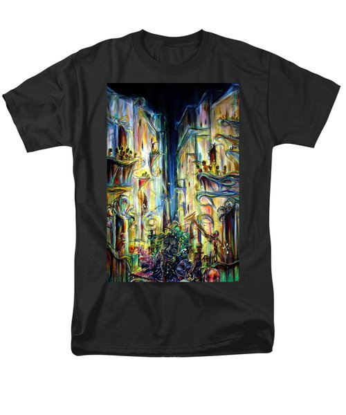 Mardi Gras Men's T-Shirt  (Regular Fit) by Heather Calderon