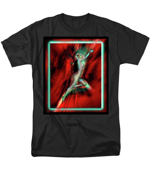 Men's T-Shirt  (Regular Fit) featuring the photograph Marilyn's Rose by Glenn Feron