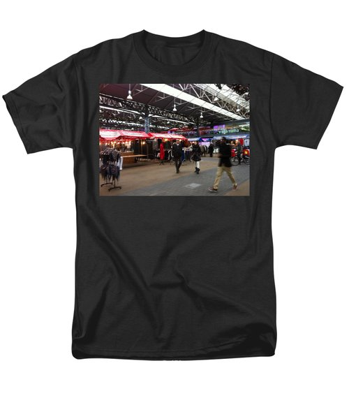 Men's T-Shirt  (Regular Fit) featuring the photograph Market Movement by Christin Brodie