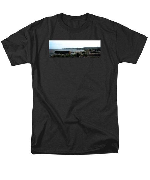 Marquette Michigan Men's T-Shirt  (Regular Fit) by Michelle Calkins