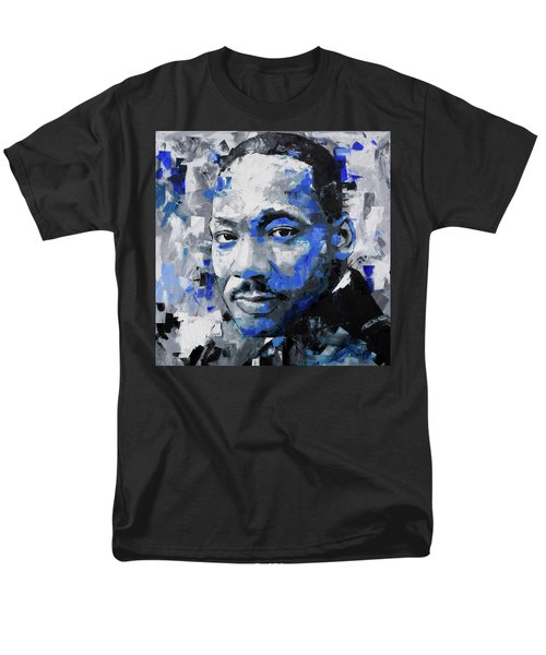Men's T-Shirt  (Regular Fit) featuring the painting Martin Luther King Jr by Richard Day