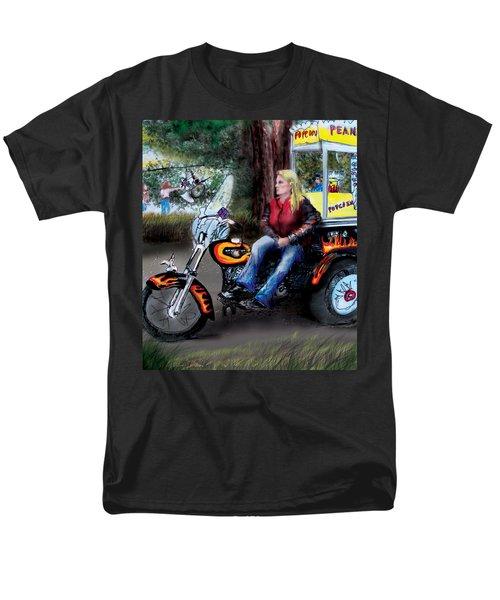 Marty's Harley Men's T-Shirt  (Regular Fit) by Albert Puskaric