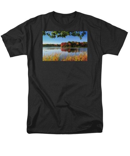 Men's T-Shirt  (Regular Fit) featuring the photograph Massapequa Nature Preserve by Jose Oquendo