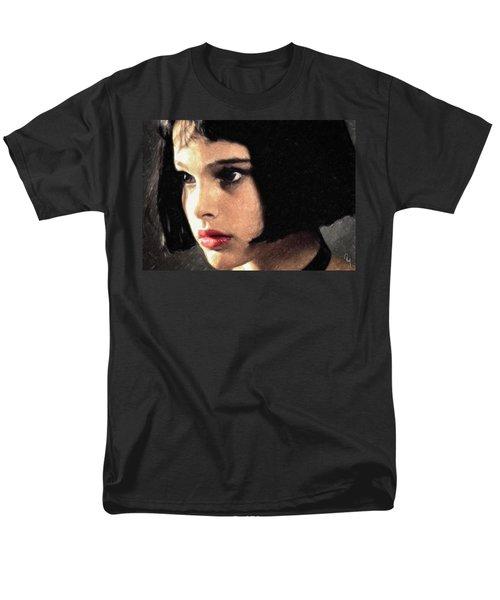 Men's T-Shirt  (Regular Fit) featuring the painting Mathilda by Taylan Apukovska