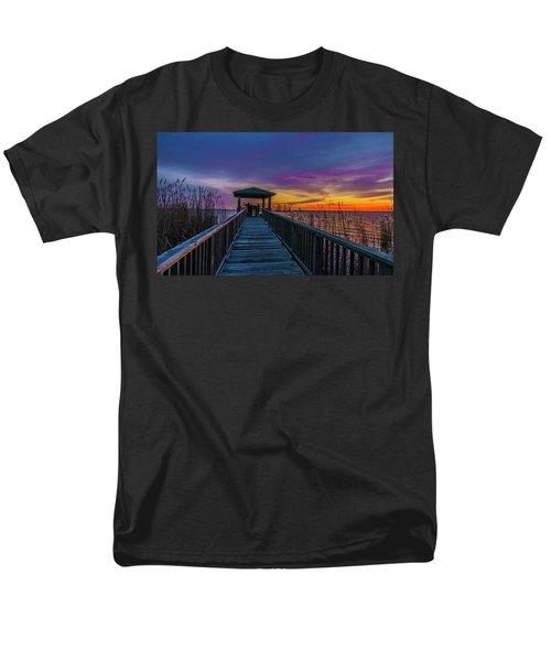 Mattamuskeet Lake Men's T-Shirt  (Regular Fit)