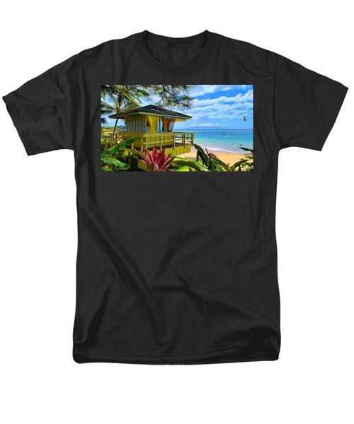 Maui Kamaole Beach Men's T-Shirt  (Regular Fit) by Michael Rucker